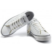 scarpe converse uomo basse bianche