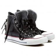 scarpe converse con zip