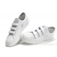 scarpe converse donna basse bianche