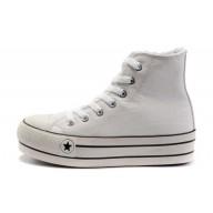 scarpe converse donna bianche alte
