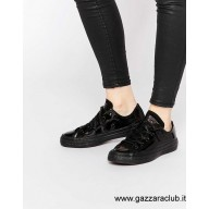 scarpe converse donna nere basse