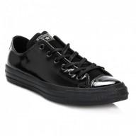 scarpe converse pelle nere donna