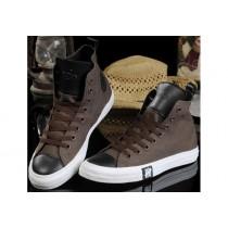 scarpe converse uomo pelle alte