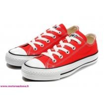 scarpe rosse converse