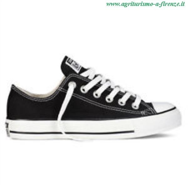 all star converse nere basse