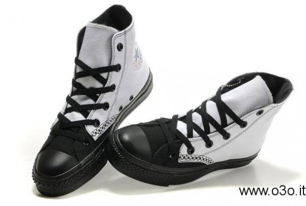 converse all star alte uomo nere