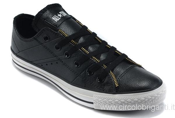 converse chuck taylor all star basse nere