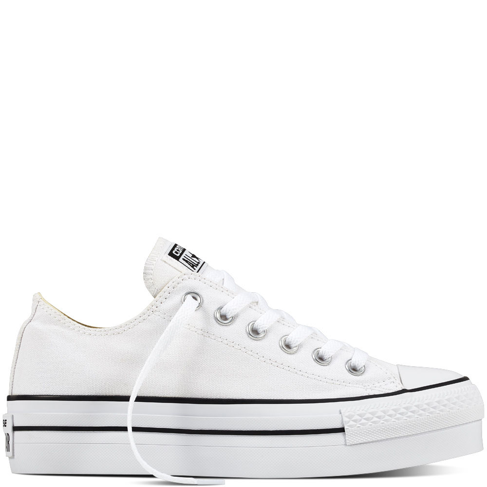 converse donna all star bianche basse