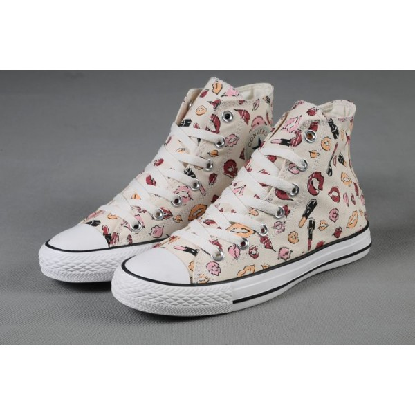 converse donna in tela